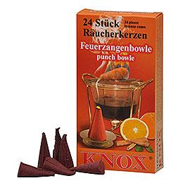 Knox Incense Cones - Brandy Punch Feuerzangenbowle