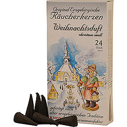 Knox Incense Cones - Original Ore Mountain Incense Cones - Christmas Scent