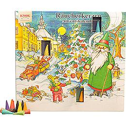 Knox Räucherkerzen-Adventskalender - Motiv 2021 - 24 cm