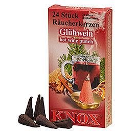 Knox Räucherkerzen - Glühwein