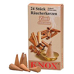 Knox Räucherkerzen - Zimt