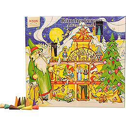 Knox Räucherkerzen-Adventskalender - Motiv 2020 - 24 cm