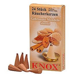 Knox Räucherkerzen - Gebrannte Mandel