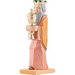 König mit gelben Umhang - 6,8 cm