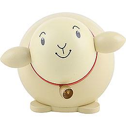 Kugelfigur Schaf bunt - 6 cm