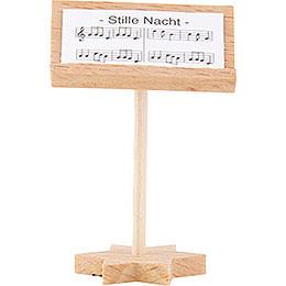 Kurzrockengel Dirigentenpult, natur - 4 cm