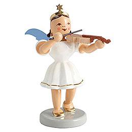 Kurzrockengel farbig Violine - 6,6 cm