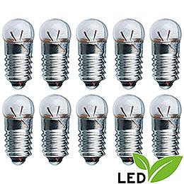 LED-Glühlampe - Sockel E5,5 - 3,5V