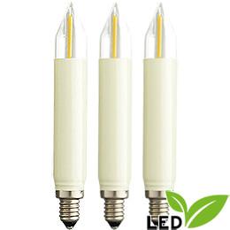 LED-Kleinschaftkerze Filament - Sockel E10 - 16V