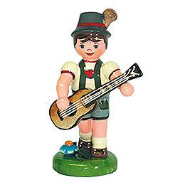 Lampionkind Junge mit Gitarre - 8 cm
