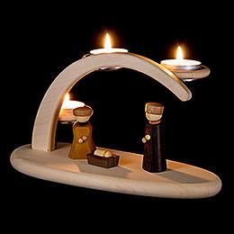 Leuchterbogen Christi Geburt - 25x13x10 cm