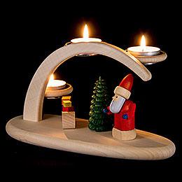 Leuchterbogen Weihnachtsmotiv - 25x13x10 cm