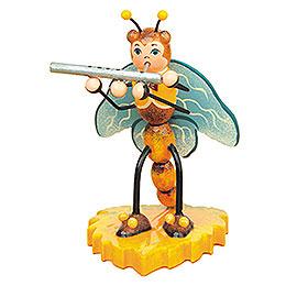 Libelle mit Querflöte - 8 cm
