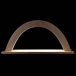 Lichterbogen Ahorn natur - 42x23x11 cm