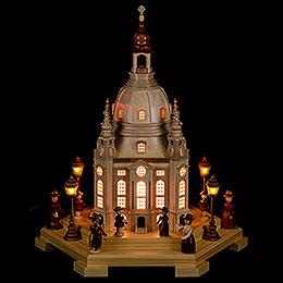 Lichterhaus Frauenkirche Dresden 230V - 24x21x28 cm