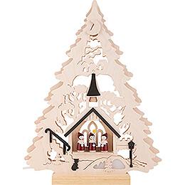 Lichterspitze Baum Kurrende - 34x44 cm
