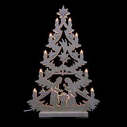 Lichterspitze Christbaum - 70x46x5,5 cm