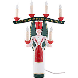 Light Angel with Yoke, Colored, Electric - 46 cm / 18.1 inch