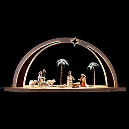 Light Arch - Nativity Scene - 60x25x11 cm / 23.6x9.8x4.3 inch