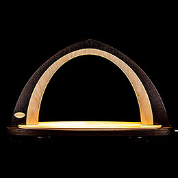 Light Arch without Figurines - Brown/Natural - 52x29,7 cm / 20.5x11.7 inch