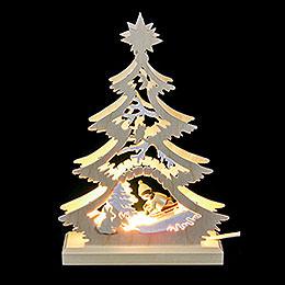 Light Triangle - Bobsleigh Rider - LED - 23.5x15.5x4.5 cm / 9.06x5.91x1.57 inch