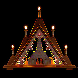 Light Triangle - Carolers - 60x53 cm / 23.6x20.9 inch