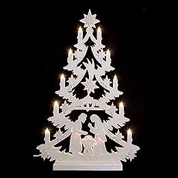Light Triangle - Christmas Tree - 60x40x5,5 cm / 23,6x15,6x2 inch