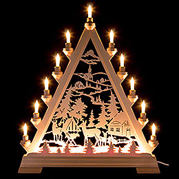 Light Triangle - Forest Hut - 56 cm / 22 inch