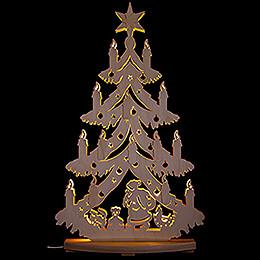 Light Triangle - Under the Christmas Tree - 38x72 cm / 15x28.3 inch