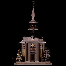 Lighted House Carlsfeld Church - 45 cm / 17.7 inch