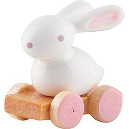 Little Bunny on Wheel Board - 1,5 cm / 0.6 inch