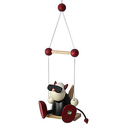 Little Devil Gustav on Swing - 7 cm / 2.8 inch