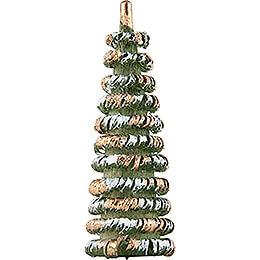 Little Tree Green/White/Gold - 4 cm / 1.6 inch