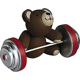 Lucky Bear Working Out - 2,7 cm / 1.1 inch