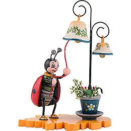 Marienkäfer mit Glockenspiel - 8 cm