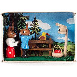 Matchbox - Bunny Couple - 4 cm / 1.6 inch