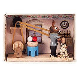 Matchbox - Bunny Turnery - 4 cm / 1.6 inch