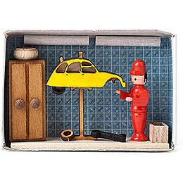 Matchbox - Car Repair Shop - 4 cm / 1.6 inch
