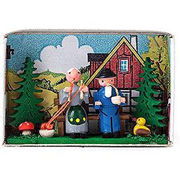 Matchbox - Grandparents - 4 cm / 1.6 inch