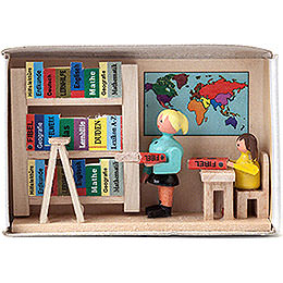 Matchbox - Library - 4 cm / 1.6 inch