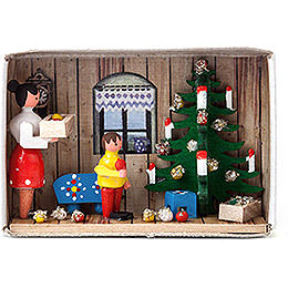 Matchbox - Looking forward to Christmas - 4 cm / 1.6 inch