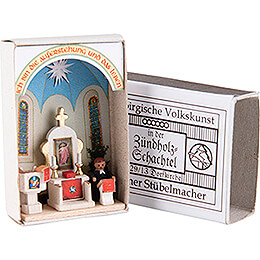 Matchbox - Rural Church - 3,8 cm / 1.5 inch