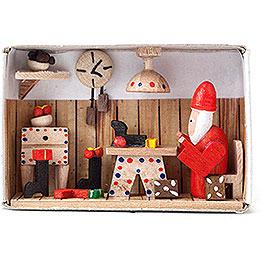 Matchbox - Santa Claus - 4 cm / 1.6 inch