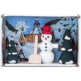 Matchbox - Snowman - 4 cm / 1.6 inch