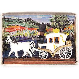Matchbox - Wedding Carriage - 4 cm / 1.6 inch
