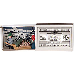 Matchbox - Wood Gatherer - 3,8 cm / 1.5 inch
