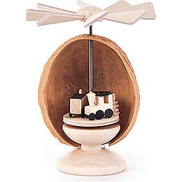 Mini-Nusswärmespiel mit Eisenbahn - 5,5 cm