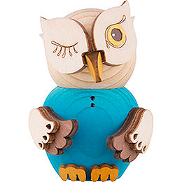 Mini Owl Blue - 7 cm / 2.8 inch