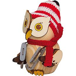 Mini Owl Nightwatchman - 7 cm / 2.8 inch