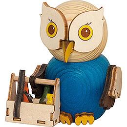 Mini Owl Workman - 7 cm / 2.8 inch